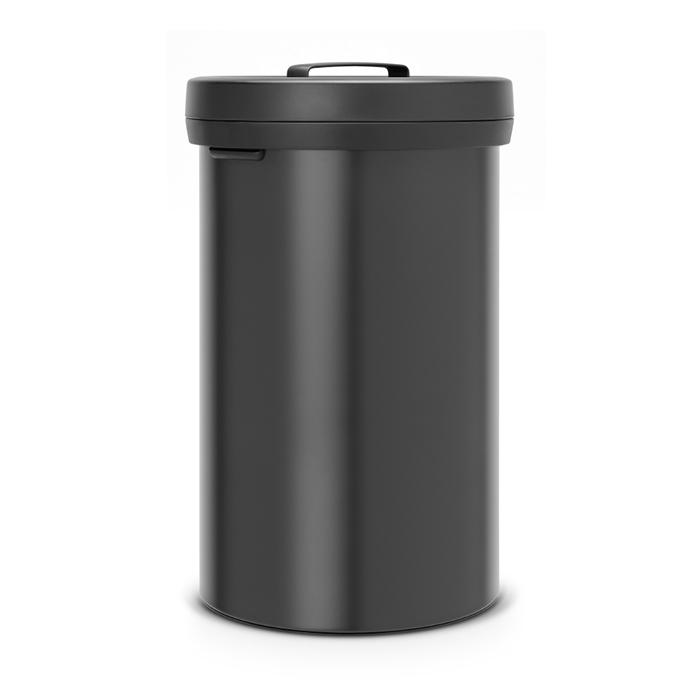 Мусорный бак Big Bin (60 л), Черный матовый, арт. 402029 - фото 1