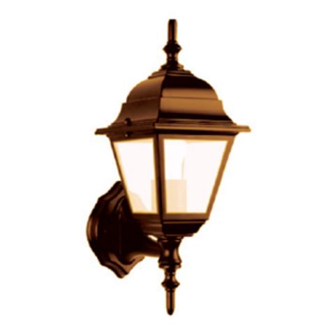 Светильник 4060-11 садово-парковый четырехгранник, 60Вт, вверх, бронза