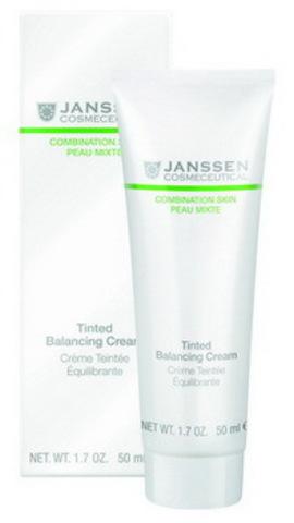 Балансирующий крем с тонирующим эффектом Janssen Tinted Balancing Cream, 100 мл.