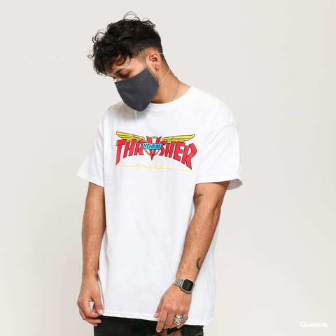 Футболка Thrasher Venture Collab S/S White