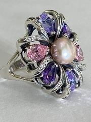 Юкка (кольцо  из серебра)