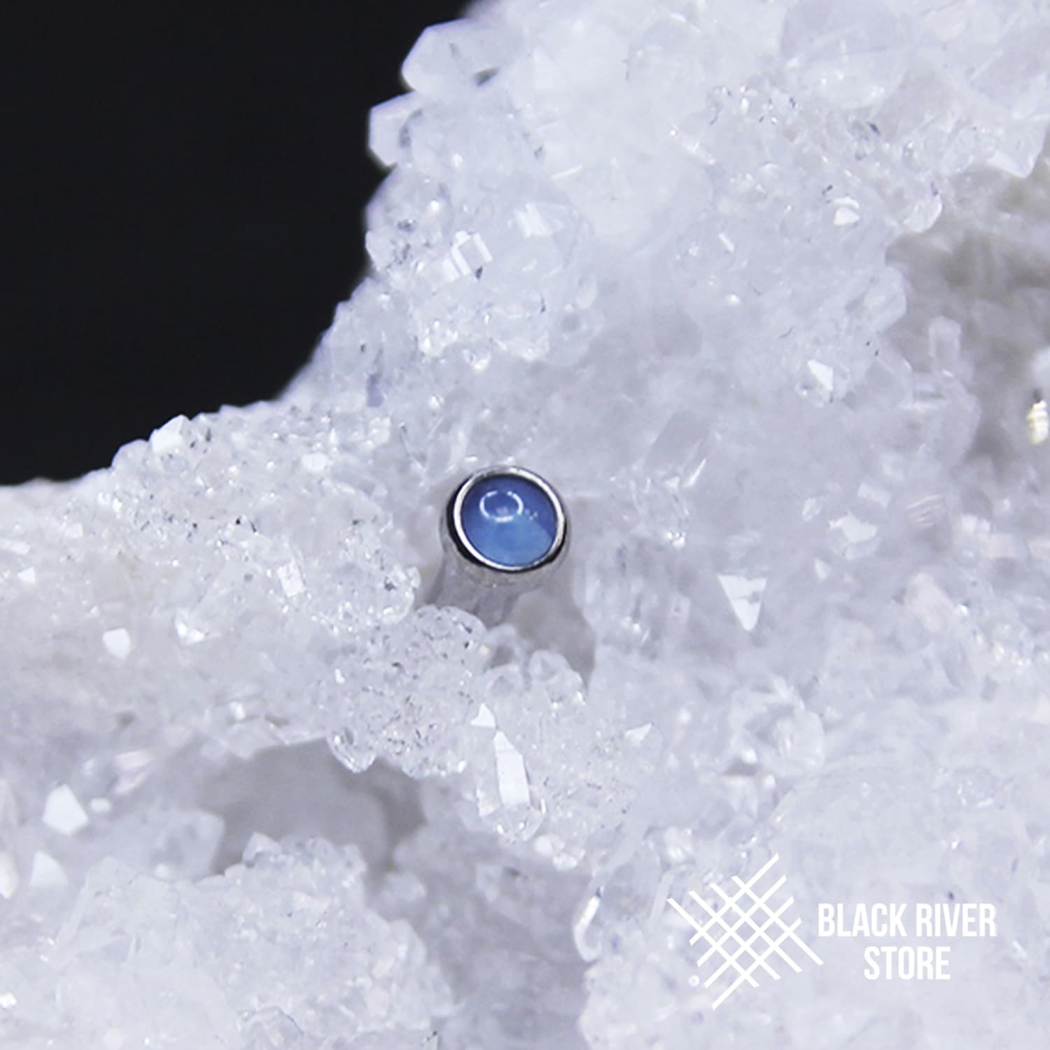IS Blue Agate Natural
