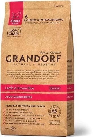 Купить Грандорф для средних пород ягненок и рис