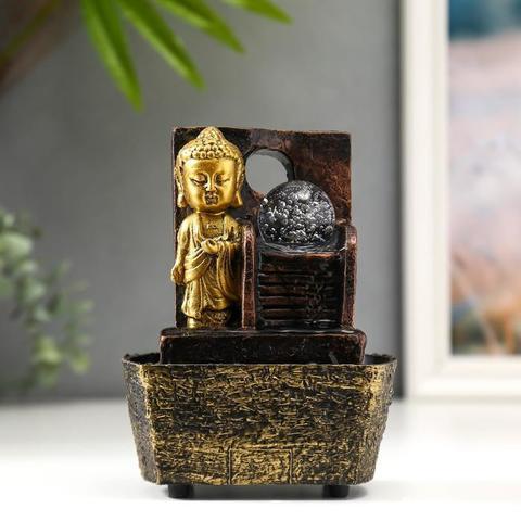 Фонтан настольный от сети Маленький Будда у фонтана-лестницы