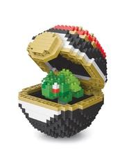 Конструктор Wisehawk & LNO Покемон бол Бульбазавр 441 деталь NO. 302 Bulbasaur Pokemon ball Series