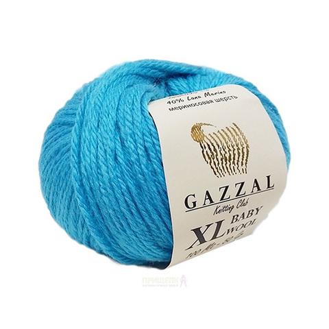 GAZZAL BABY WOOL XL (40% шерсть мериноса, 20% кашемир, 40% акрил, 50гр/100м)