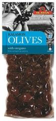 Оливки Каламон с орегано OLIVES 150 гр