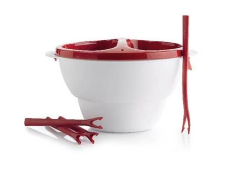 Аллегро для фондю с вилочками в красном цвете