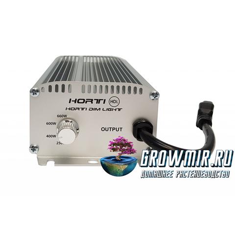 ЭПРА Horti Dim Light 600w безшумная с регулятором, 250w-660w