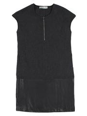 GDR010420 Платье женское. сине-черное