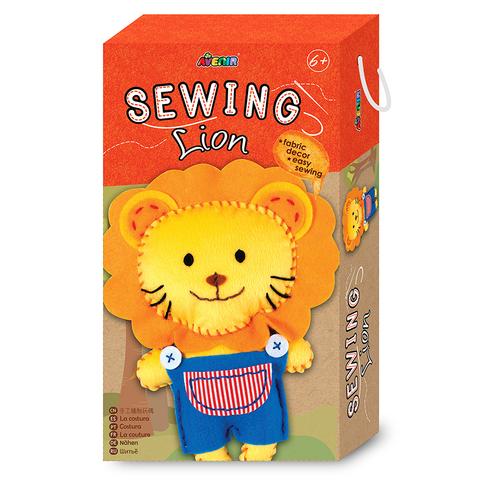 Набор для шитья: мягкая игрушка. Лев. Avenir