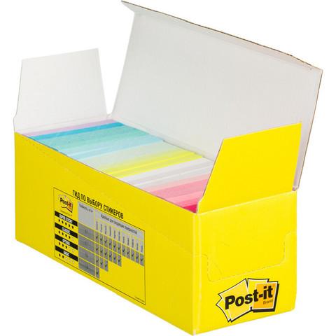 Стикеры Post-it Original Конфетти 76х76 мм неоновые 22 цвета (22 блока по 100 листов)
