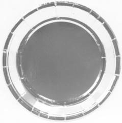Тарелки (7''/18 см) Серебро, 6 шт.
