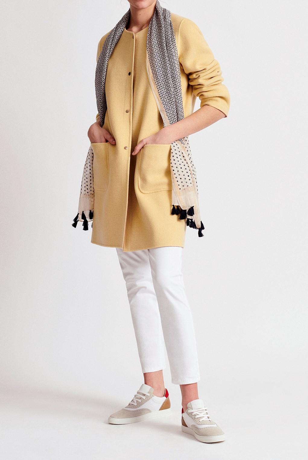ROSALIA - двустороннее двойное шерстяное пальто