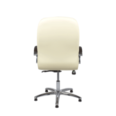 Педикюрное кресло Дэн пневматика кожаные тёмные вставки