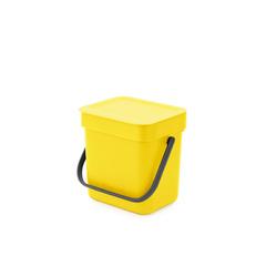 Мусорное ведро Sort & Go (3 л), Желтый