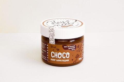 Hey nut Арахисовая паста шоколадная с шоколадными кусочками (Choco) 150 г