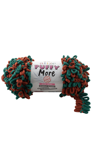 PUFFY MORE ALIZE (100% Микрополиэстер, 150гр/11,5м)