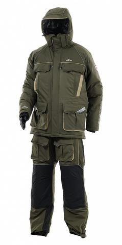 Костюм зимний Камчатка 2020 (таслан, хаки) GRAYLING Novatex
