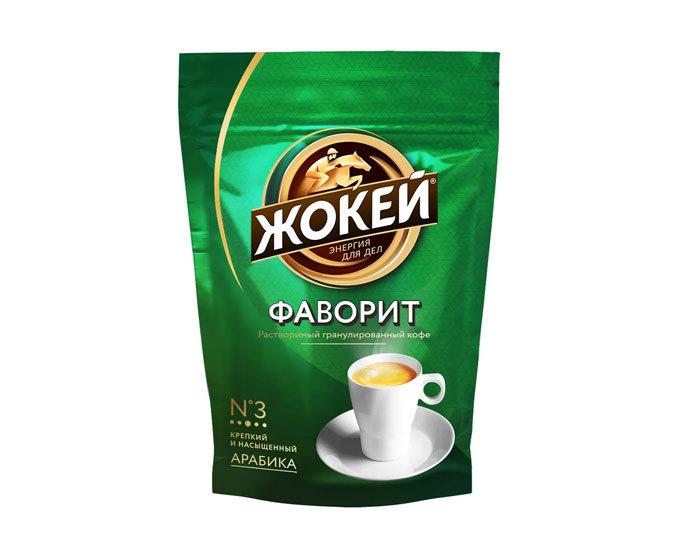 купить Кофе растворимый Жокей Фаворит, 150 г пакет