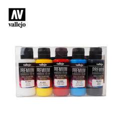 Premium Basic Opaque Color 5x60ml.