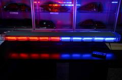 Спец.сигнал ДПС E207 (на крышу 1180мм),(red-blue)+пульт управления, шт