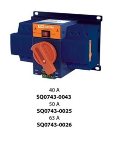 Блок автоматического ввода резерва БАВР-М 3П 50А TDM