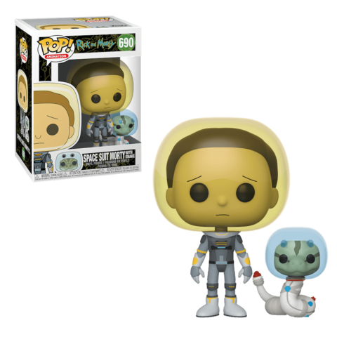 Space Suit Morty with Snake Funko Pop! Vinyl Figure || Морти со змеей
