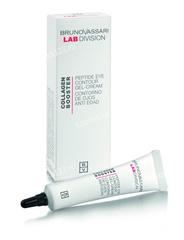 Гель-крем для глаз с пептидным комплексом (Bruno Vassari | Collagen Booster | Peptides Eye Contour Gel-Cream), 15 мл