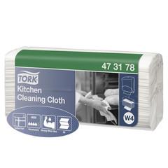 Нетканый протирочный материал Tork 473178 W4 белый (80 листов в упаковке)