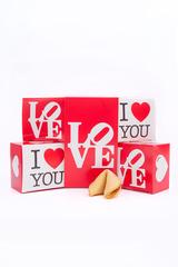 Большой набор Печенье с предсказаниями для влюбленных