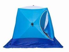 Палатка для зимней рыбалки Стэк Куб-3 трехслойная Long