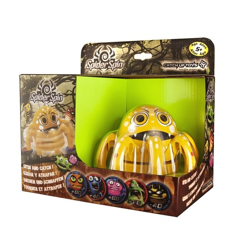 Игра CATCHUP TOYS Spider Spin Cute. 5+