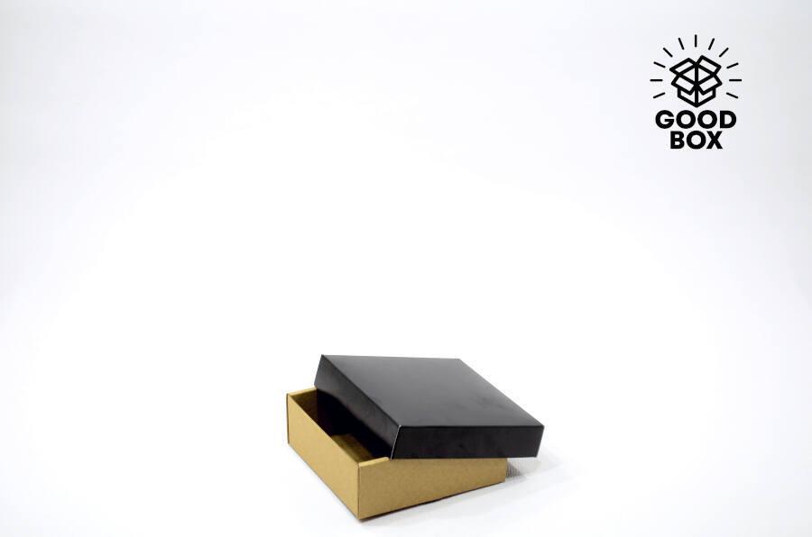 Черная подарочная коробка купить в Казахстане недорого