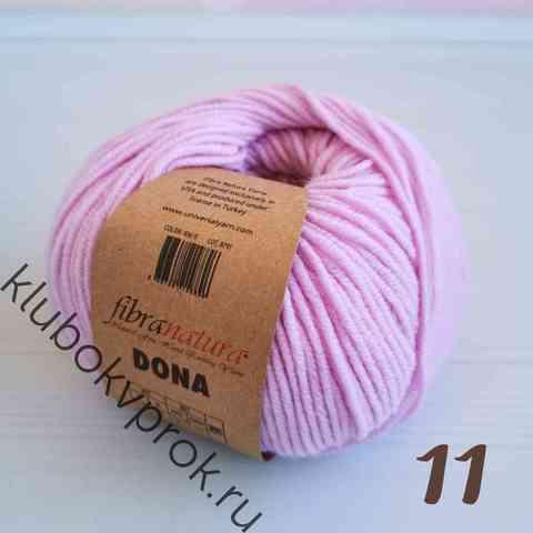 FIBRA NATURA DONA 106-11, Нежный розовый