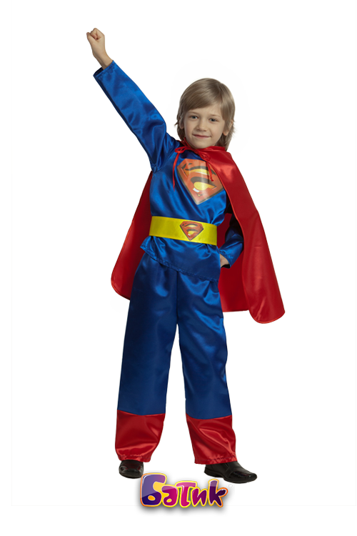 Карнавальный костюм Супермен детский
