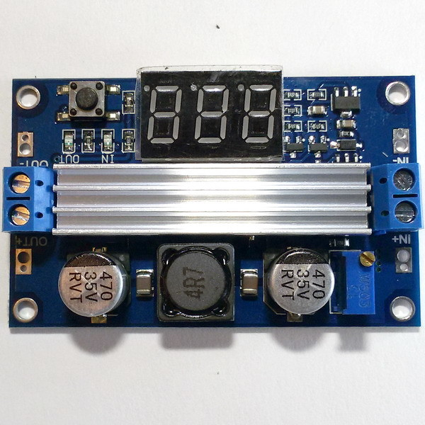 Повышающий DC-DС преобразователь LTC1871 с индикатором