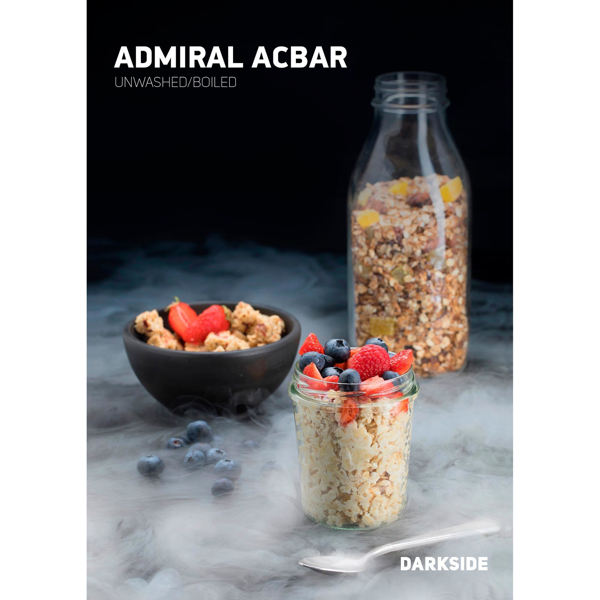 Табак для кальяна Dark Side Core 100 гр Admiral Acbar General, магазин FOHM