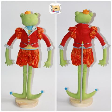Подставка для куклы с креплением