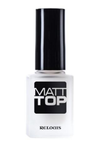 RELOUIS Матовое верхнее покрытие ногтей
