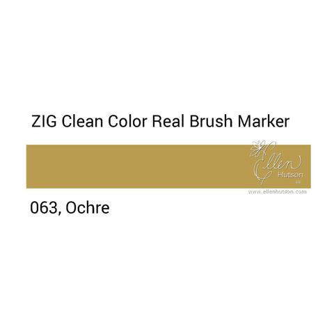Маркер акварельный ZIG Clean Color Real Brush- штучно - 063