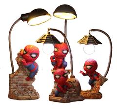 Человек паук светильник настольный