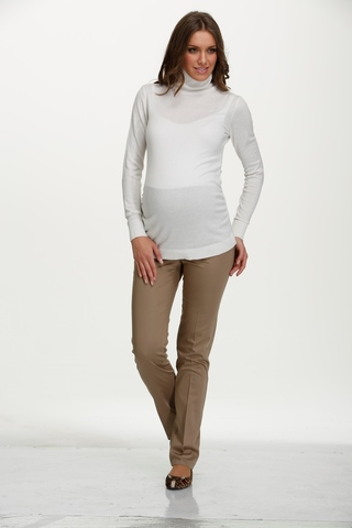 Водолазка для беременных 03793 белый