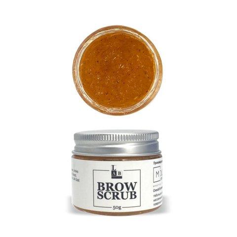 Скраб для бровей Lab Lashes&Brow, 50 гр.