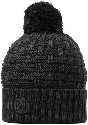 Вязаная шапка Buff Airon black фото 1