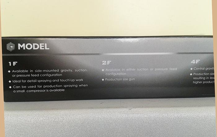 Краскопульт STAR SMV-2F дюза 1.3, работа под давлением