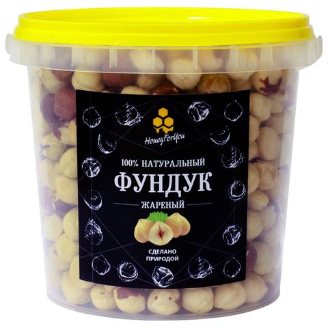 Фундук жареный HoneyForYou, 600 грамм