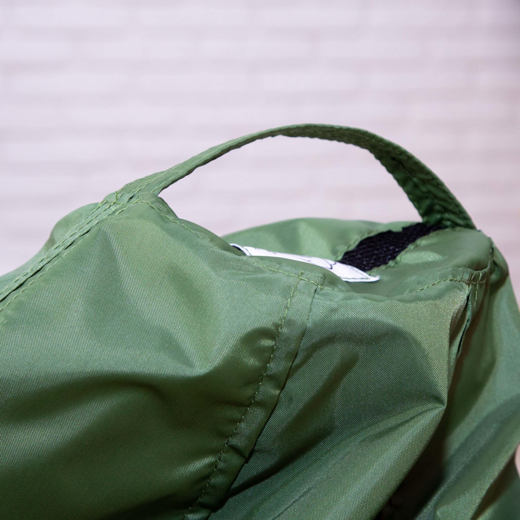 Груша M плащёвка, съёмный чехол (тёмно-зеленая)