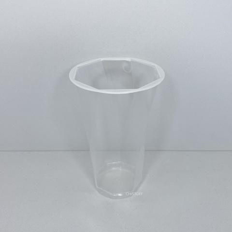 95143 РР / 1000 Стакан одноразовий (з 8-ю гранями) 500 мл (50 шт.)