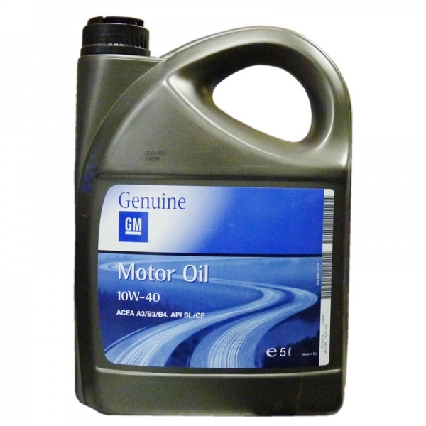 GM MOTOR OIL 10W-40- Полусинтетическое моторное масло